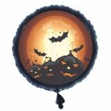 Halloween, Deko-Luftballon aus Folie mit Helium