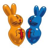 Latex-Hasen-Luftballons, 2 Stück