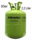 Helium-Einwegflasche, 2,245 Liter Heliumgas