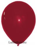 "Luftballon 30x40cm 14"" Bordeaux, 10 Stück"