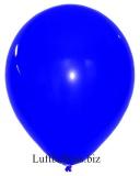 Große Latex-Luftballons, 40 cm x 36 cm, Blau, 10 Stück