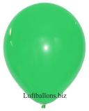 Große Latex-Luftballons, 40 cm x 36 cm, Grün, 10 Stück