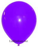 Große Latex-Luftballons, 40 cm x 36 cm, Lila, 10 Stück