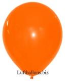 Große Latex-Luftballons, 40 cm x 36 cm, Orange, 10 Stück