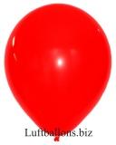 Große Latex-Luftballons, 40 cm x 36 cm, Rot, 10 Stück