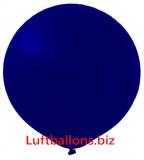 Luftballons, 40 cm x 40 cm, Dunkelblau, 50 Stück