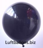 Luftballons, 40 cm x 40 cm, Schwarz, 10 Stück