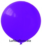 Luftballons, 40 cm x 40 cm, Violett, 10 Stück