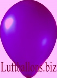 Luftballons Metallic, Violett, 100 Stück, 30 cm
