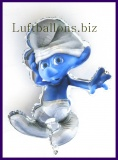 Schlumpf, Luftballon aus Folie