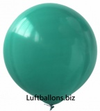 Luftballons, 40 cm x 40 cm, Grün, 10 Stück