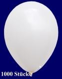Deko-Luftballons, Standardfarben, Weiß, 28-30 cm, 1000 Stück