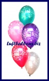 Zahlen-Luftballons, Zahl 100, 25 Stück