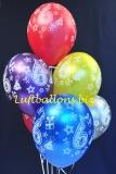 Luftballons, Zahl 6, 6 Stück