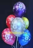 Luftballons, Zahl 8, 6 Stück