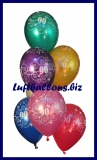 Zahlen-Luftballons, Zahl 90, 25 Stück