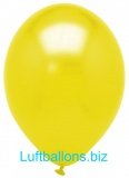Luftballons Metallic, Gold, 100 Stück, 28 cm