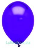 Luftballons Metallic, Lila, 100 Stück, 28 cm