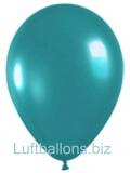 Luftballons Metallic, Mintgrün, 100 Stück, 28 cm