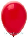 Luftballons Metallic, Rot, 100 Stück, 28 cm