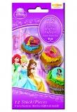 Muffinaufleger Prinzessinnen, Disney Princess Muffindekoration, 12 Stück