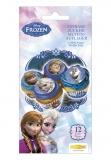 Muffinaufleger Die Eiskönigin, Frozen Muffinkoration, 12 Stück