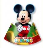 Patyhütchen Micky Maus, Partyhüte 6 Stück