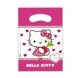 Partytüten Hello Kitty, Geschenktüten, 6 Stück