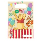 Geschenktüten Winnie the Pooh, Pu Bär Partytüten zum Kindergeburtstag