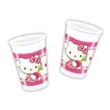 Partbecher, Hello Kitty, 8 Stück