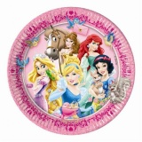 Partyteller Prinzessinnen, Disney Princess, 8 Stück
