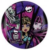 Partyteller Monster High, 8 Stück