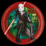 Partyteller Star Wars Rebels, 8 Stück