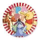 Partyteller Winnie the Pooh, Pu Bär Teller