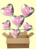 My Little Pony Luftballons mit Helium, Kindergeburtstag Geschenke, 6 Stück