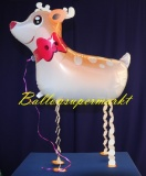 Rentier, Tier-Luftballon ohne Helium