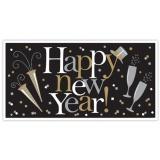 Happy New Year! - Riesenbanner zur Silvester-Dekoration