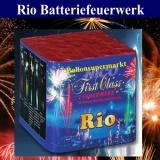 Feuerwerk Rio, Batteriefeuerwerk