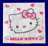 Servietten, Hello Kitty, 20 Stück