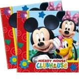 Servietten Micky Maus, Mickey Mouse Partyservietten