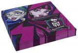 Servietten Monster High, 20 Stück