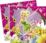 Servietten, Tinkerbell, 20 Stück, Kinderparty, Tinker Bell Partyservietten