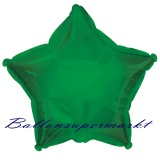 Sternballon, Luftballon aus Folie, Stern, 45 cm, Grün