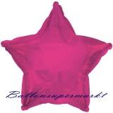Sternballon, Luftballon aus Folie, Stern, 45 cm, Pink
