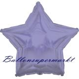 Sternballon, Luftballon aus Folie, Stern, 45 cm, Violett-Metallic