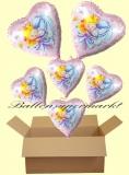 Sweet Little Princess Lluftballons mit Helium, Kindergeburtstag Geschenke, 6 Stück