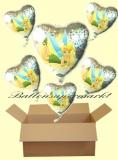 Tinkerbell Holo Luftballons mit Helium, Kindergeburtstag Geschenke, 6 Stück