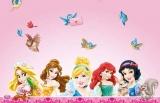 Tischdecke Prinzessinnen, Partydecke Disney Princess