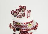 Torten-Dekorations-Set Minni Maus, Minnie Mouse Kuchendekoration