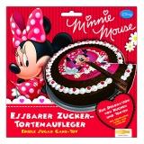 Tortenaufleger Minni Maus, Minnie Mouse Kuchendekoration